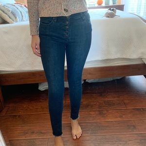 Free People Button jeans